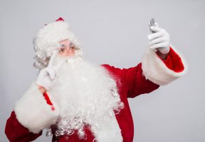 Selfie Santa needs to lay off the promotional posts!