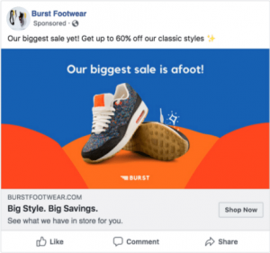 example of facebook single image ad
